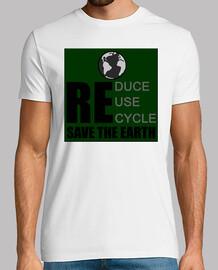 réduire réutiliser recycler sauver la terre