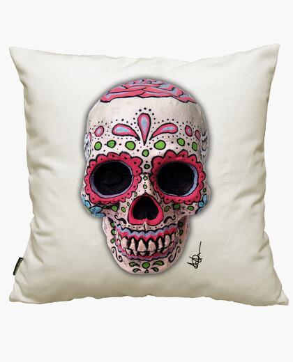 Housse de coussin réel crâne mexicain !!!