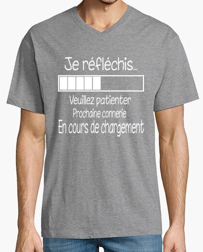 Camiseta reflexiono. ..