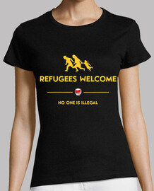refugees welcome 2 chica