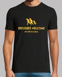 Refugees Welcome, Refugiados Bienvenidos