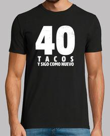 Regalo de cumpleaños 40 tacos