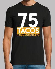 Regalo de cumpleaños 75 tacos