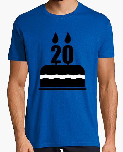 T-shirt regalo di compleanno 20 anni