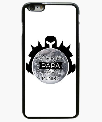 Cover iPhone 6 Plus  / 6S Plus regalo festa del papà 's papà cover iphone nera festa del papà migliore papà nel mondo cover iph