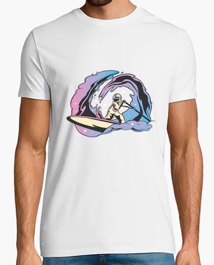 Camiseta regalo sup paddleboarding espacial