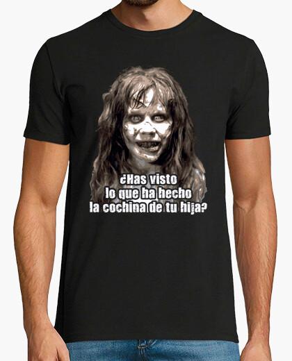 Camiseta Regan MacNeil - ¿Has visto lo que ha hecho la cochina de tu hija? (El Exorcista)