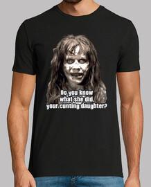 Regan MacNeil - Lo sai cosa ha fatto?! Quella stracciacazzi di tua figlia! (L'Esorcista)