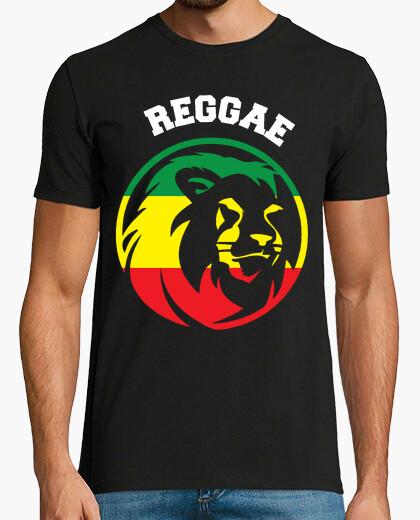 Camiseta Reggae Lion