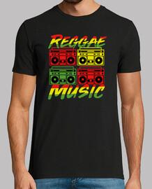 Reggae Music Boombox Stereo Rasta