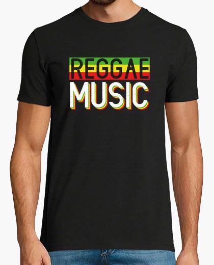 Camiseta Reggae Music Jamaica