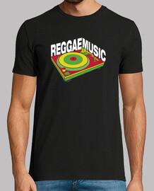Reggae Music Vinyl Turntable DJ