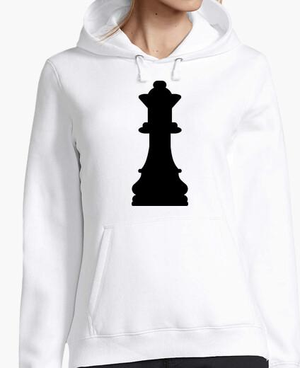 Felpa regina degli scacchi