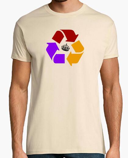Camiseta Regla de las III R (negro) - Chico