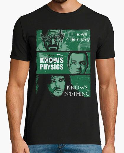 Camiseta reglas de conocimiento
