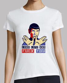 règles de spock - tee  femme