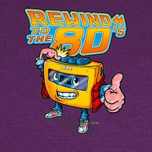T-shirt Regreso a los 80