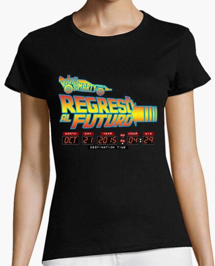 Camiseta Regresó al futuro (chica)
