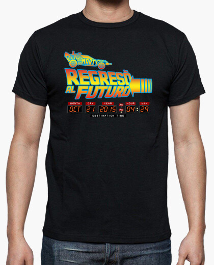 Camiseta Regresó al futuro (chico)