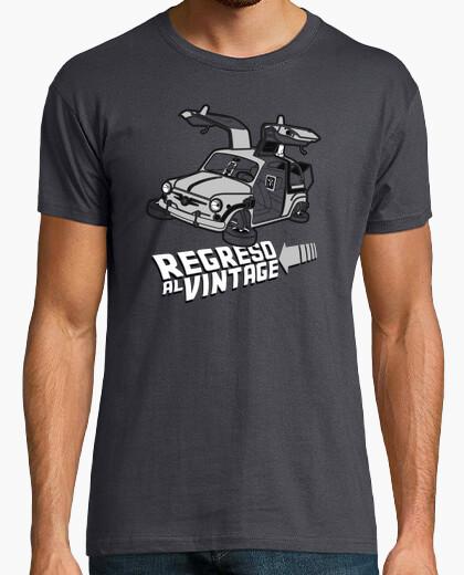 Camiseta Regreso al Vintage - 600 to the future