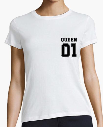 Camiseta reina 01 (corazón y espalda)