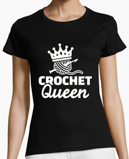 Camiseta reina de ganchillo