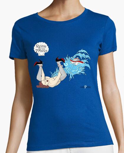 Camiseta Reina de los 7 mares /f.rojos