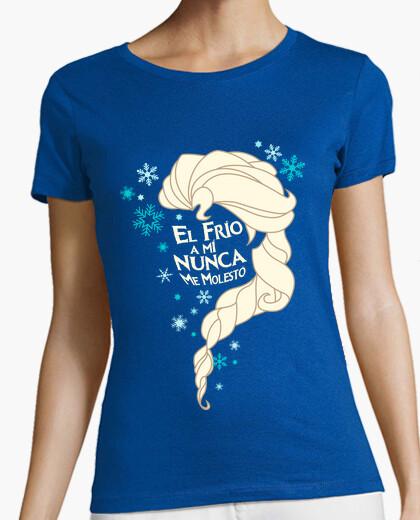 Camiseta Reina del Invierno Cantando Sueltalo Let it go Frozen