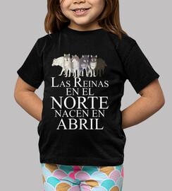Reinas en el Norte nacen  Abril