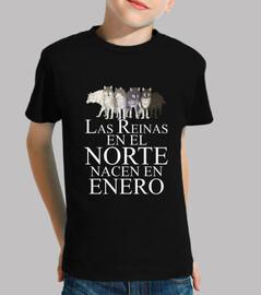 Reinas en el Norte nacen Enero