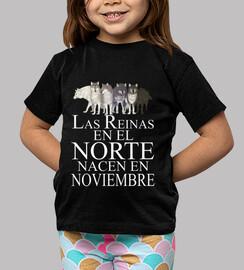 Reinas en el Norte nacen Noviembre