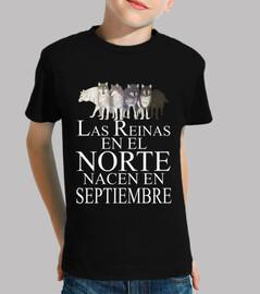 Reinas en el Norte nacen Septiembre