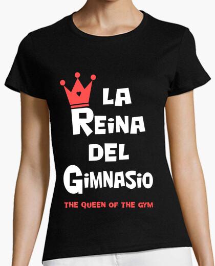 Tee-shirt reine de la salle de gym