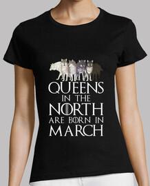 reines dans le nord né en mars