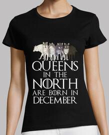 reines dans le nord nés en décembre