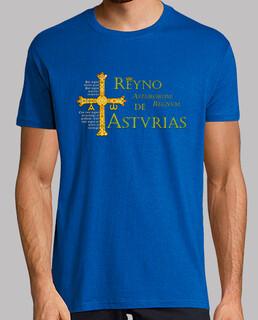 Reino de Asturias (con lema)
