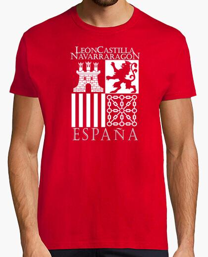 Camiseta Reinos de España (Blanco)