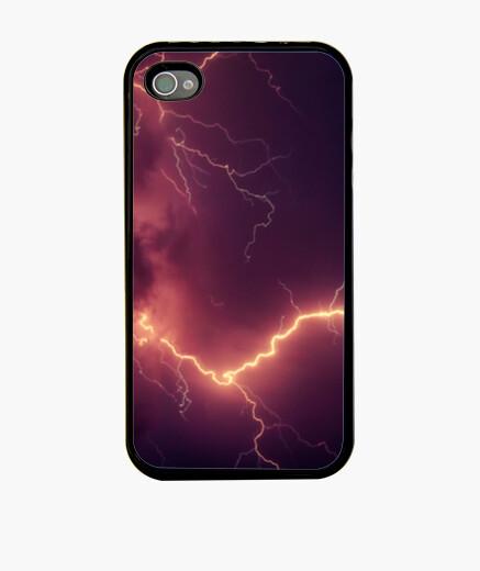 Funda iPhone Relámpagos iluminando la noche
