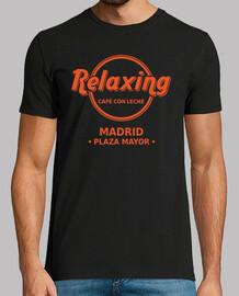 Relaxing Cafe con Leche naranja