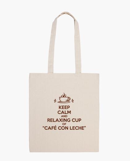 Bolsa Relaxing cup of café con leche