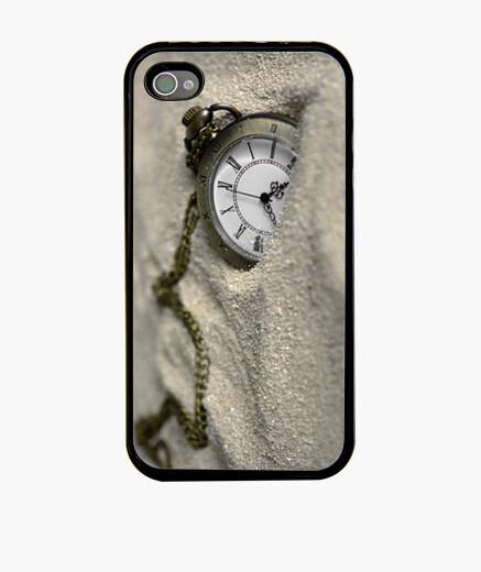 Funda iPhone Reloj de bolsillo en arena
