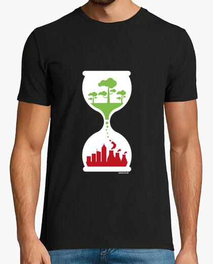 Camiseta Reloj ecológico