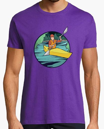 Camiseta Remando en el río