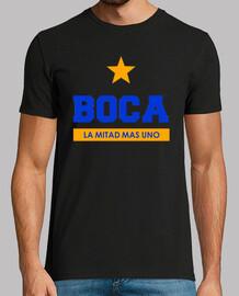 Remera Boca Juniors - La mitad mas uno