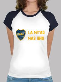 Remera Boca Juniors La Mitad Mas uno