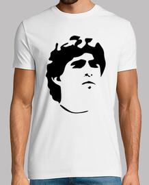 Remera Diego Armando Maradona (Delante) - Maradona 10 (Detrás)