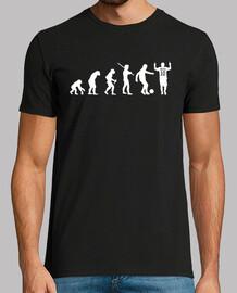Remera Evolucion Humana Messi