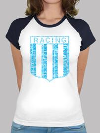 Remera Mujer Racing Club