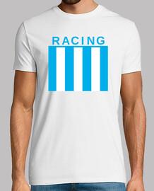 Remera Racing (Delante) - La academia (Detrás)