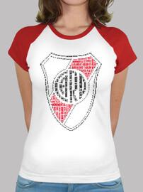Remera River Plate Escudo